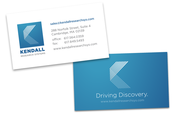 Tim smith kendall research business card and logo reheart Images